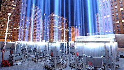reflectors used in world trade center