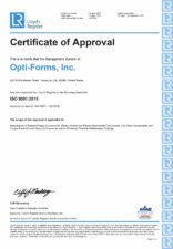 Optiforms-ISO9001-2015
